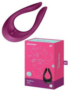 satisfyer endless joy available in black and berry