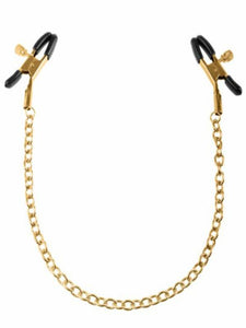 fetish fantasy gold nipple clamps product