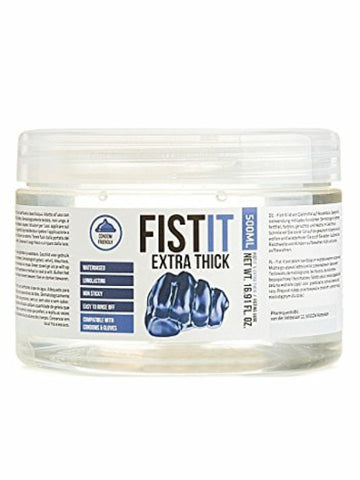 fist it extra thick fisting lubricant