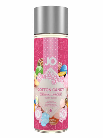 jo h2o candy shop lubricant cotton candy