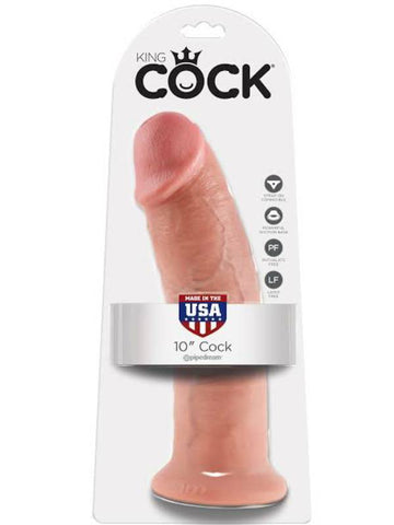 Image of king cock 10 inch cock packaging