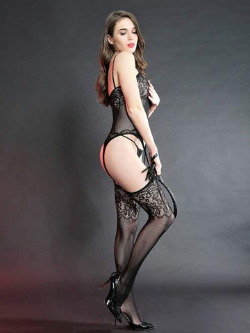Image of cindy love body stocking 7810 side design