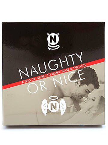 Image of naughty or nice adult card game