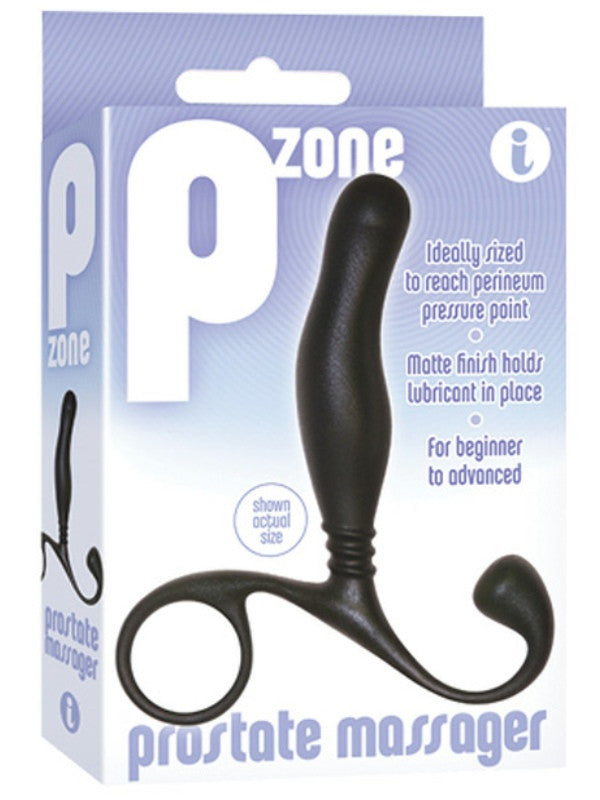 Pzone Prostate Massager - Black - Passionzone Adult Store - 2