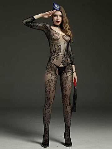 Image of rimes body stocking 606a front