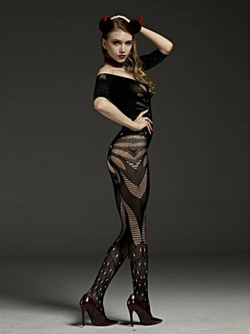 Image of rimes body stocking 7095 back