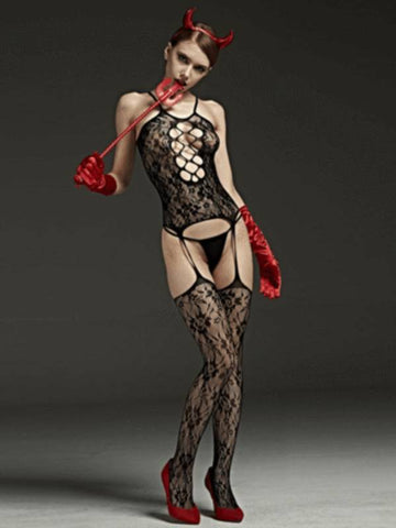 Image of rimes body stocking 521d front view