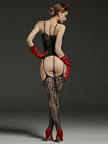 Image of rimes body stocking 521d back view