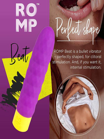 Image of romp beat silicone vibrator