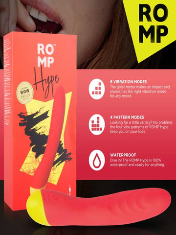 Image of romp hype vibrator