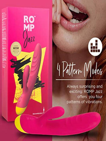 Image of romp jazz product and packaging