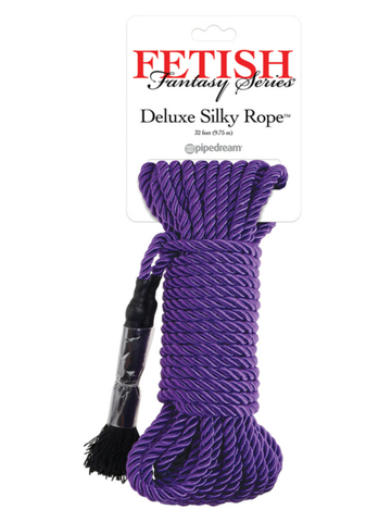 purple bondage rope