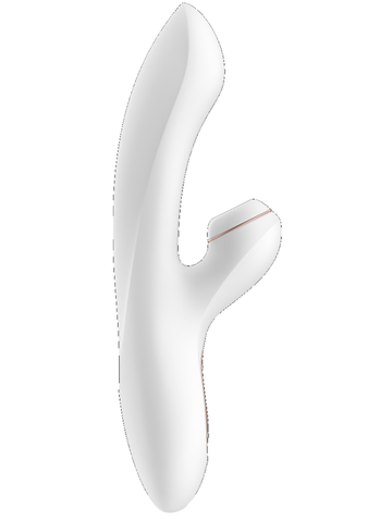 satisfyer pro Rabbit vibrator side view