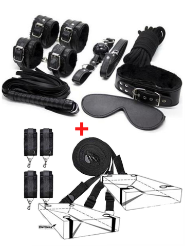 Image of Bondage kit for bedroom