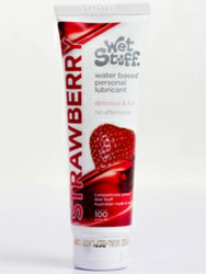 wet stuff strawberry 100g lube