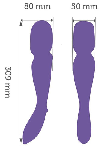 Image of we-vibe wand dimensions