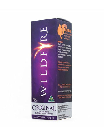 Image of wildfire original massage oil 50ml