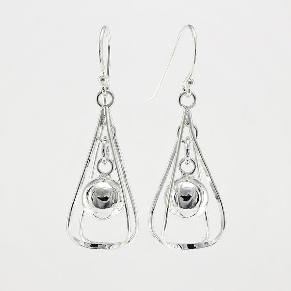 SWE101 Sterling Silver Earrings