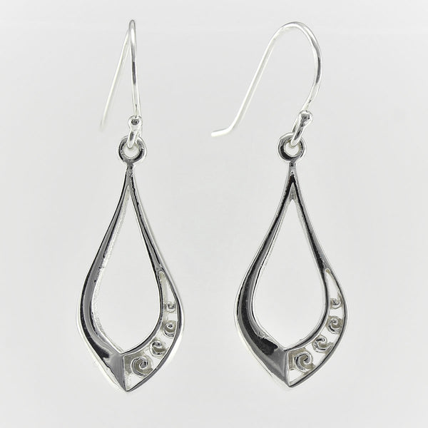 SWE102 Sterling Silver Earrings
