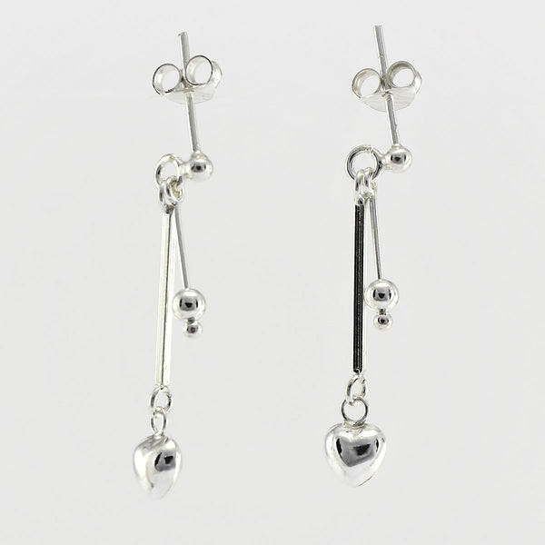 SWE104 Sterling Silver Earrings