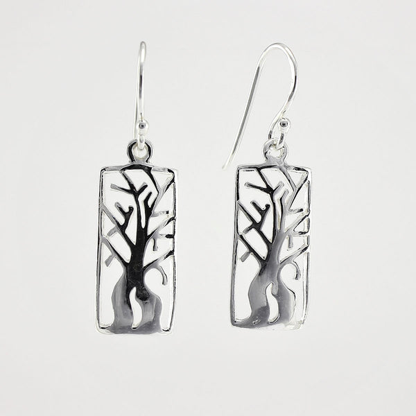 SWE106 Sterling Silver Earrings