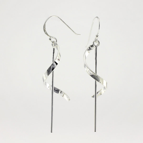 SWE109 Sterling Silver Earrings