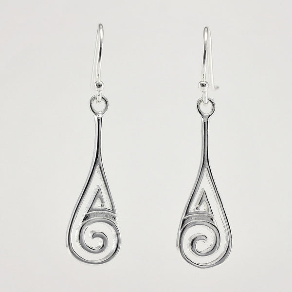 SWE111 Sterling Silver Earrings