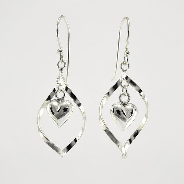 SWE112 Sterling Silver Earrings
