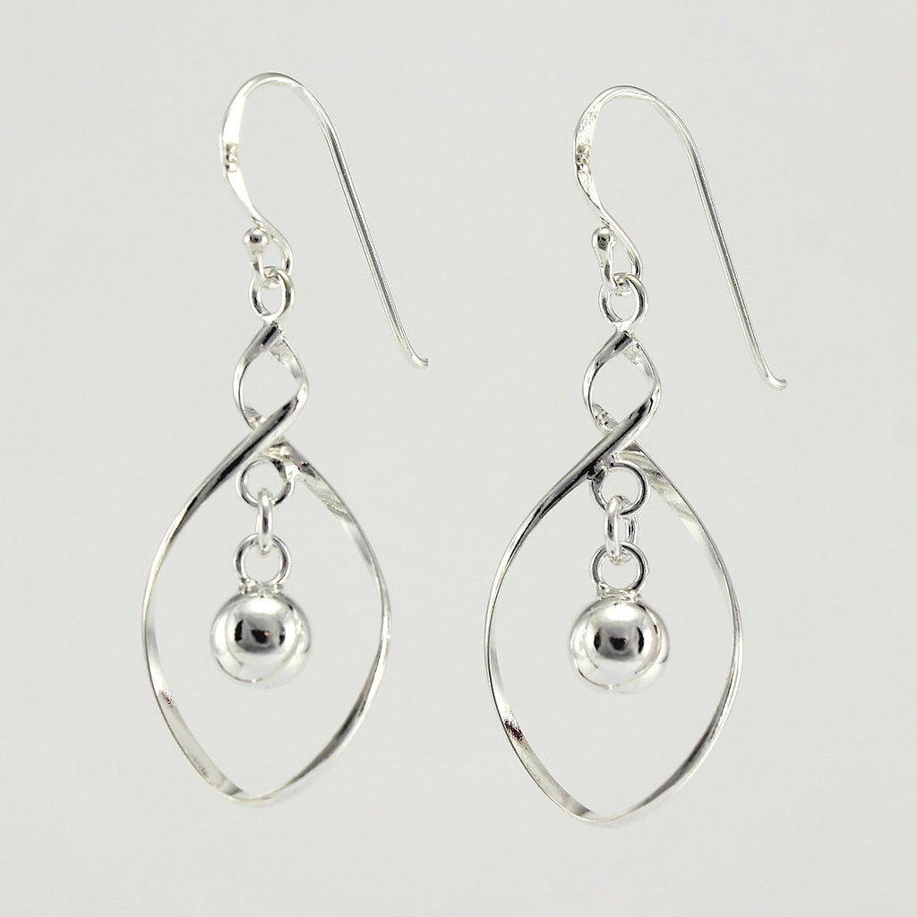 SWE121 Sterling Silver Earrings