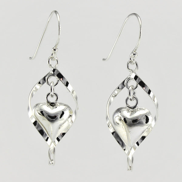 SWE122 Sterling Silver Earrings