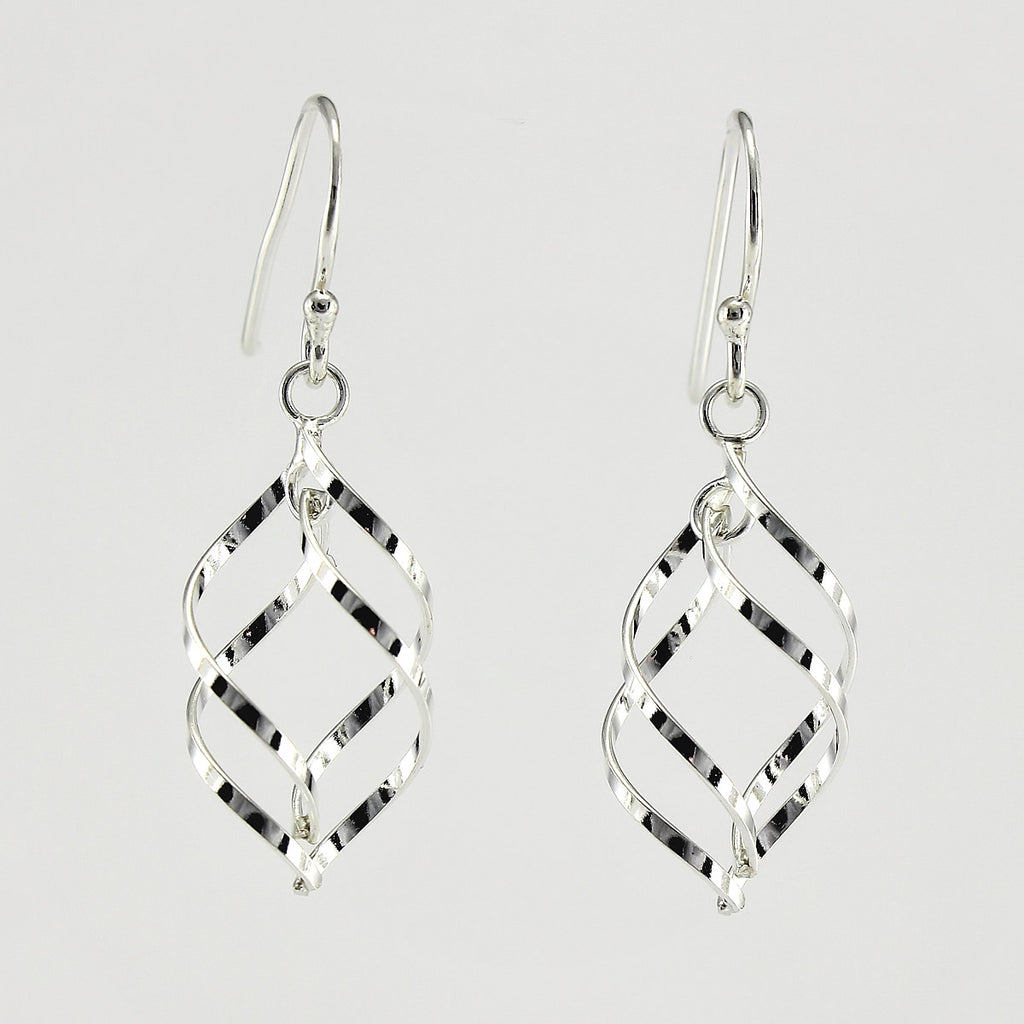 SWE123 Sterling Silver Earrings