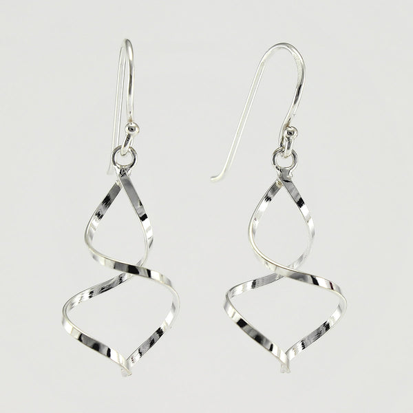 SWE127 Sterling Silver Earrings