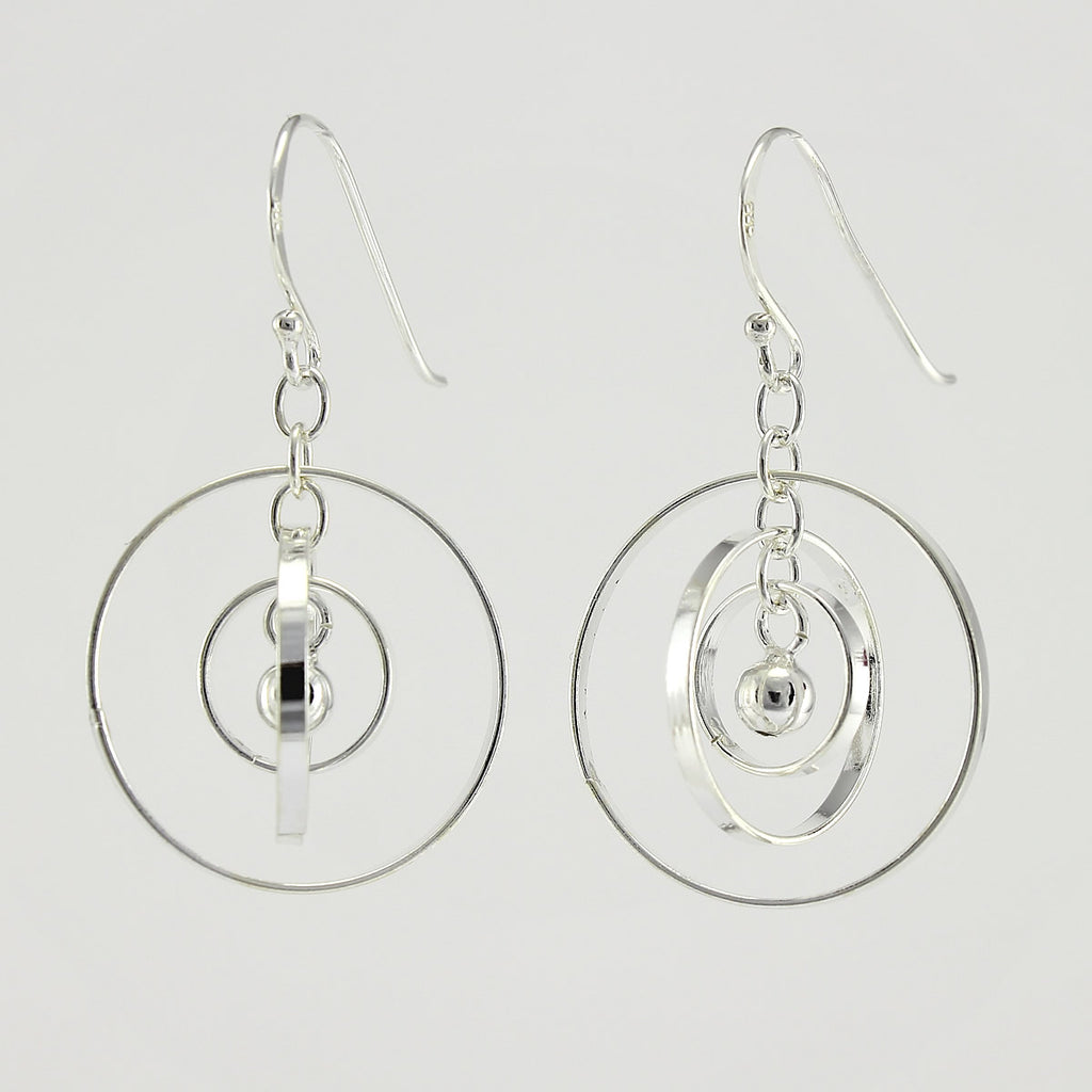 SWE128 Sterling Silver Earrings