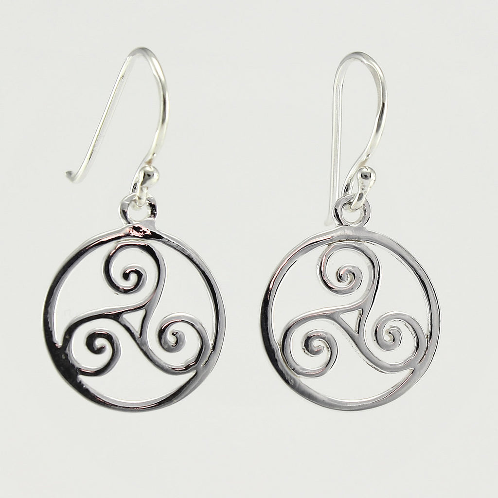 SWE139 Sterling Silver Earrings