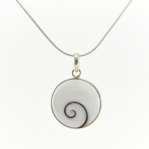 SWN130 Sterling Silver Pendant Necklace