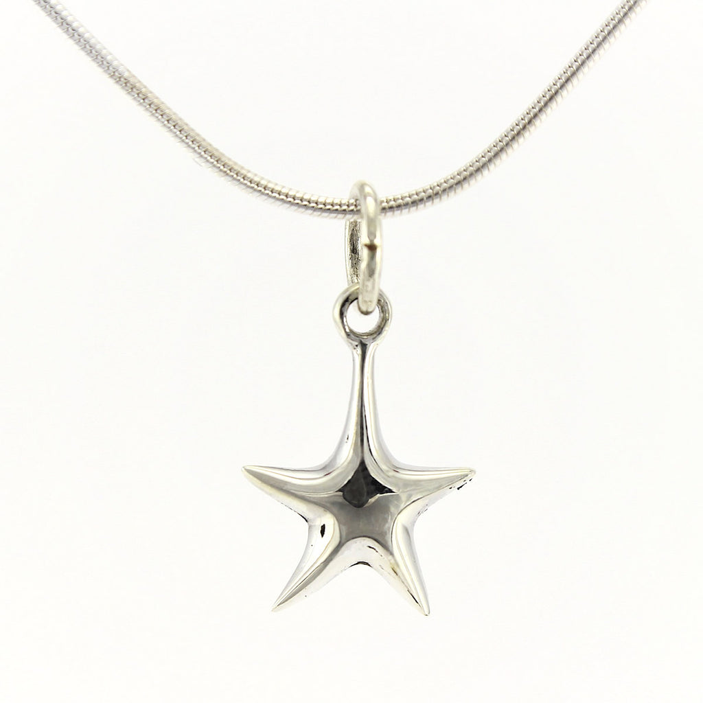 SWN131 Sterling Silver Pendant Necklace