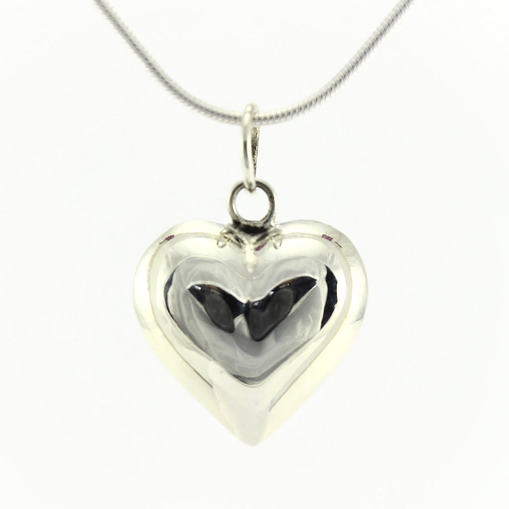 SWN134 Sterling Silver Pendant Necklace