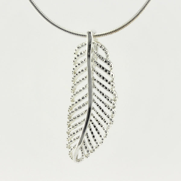 SWN138 Sterling Silver Pendant Necklace