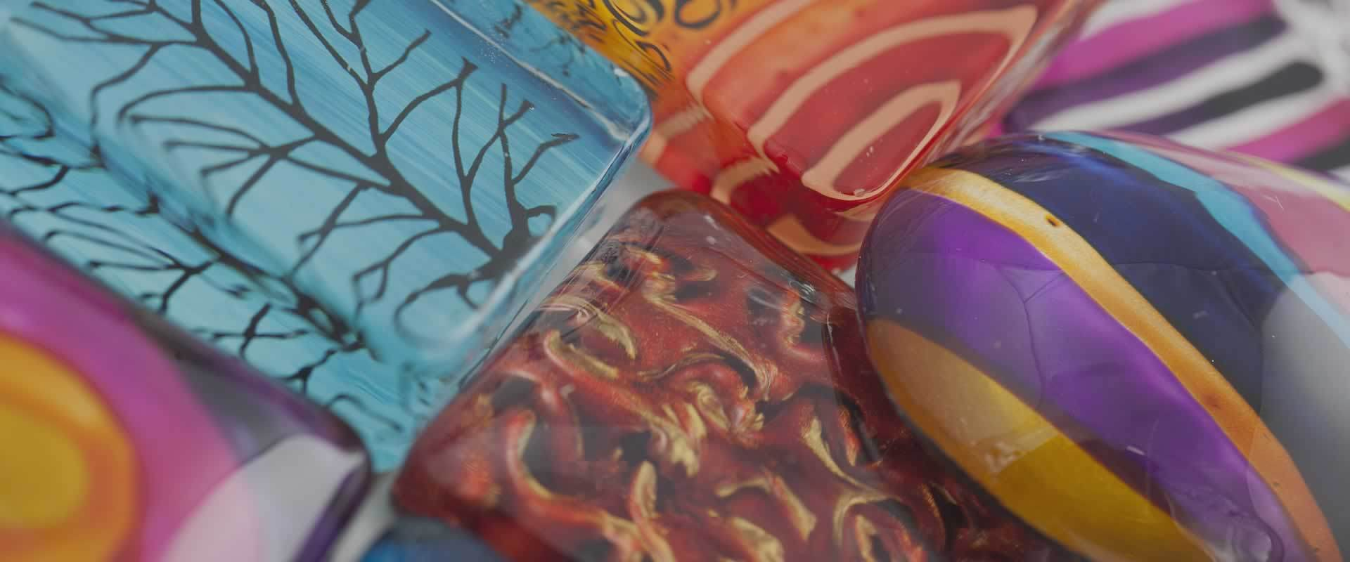 Hand-Painted Glass Jewellery