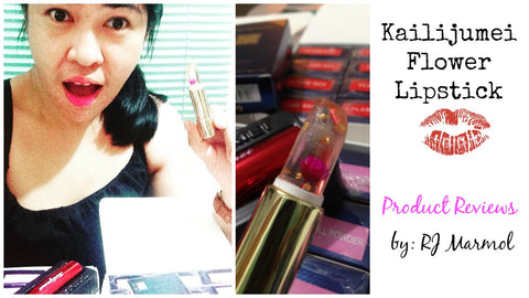 *HOW TO TELL IF YOUR KAILIJUMEI LIPSTICK IS GENUINE* (How to Authenticate Kailijumei Flower Lisptick)
