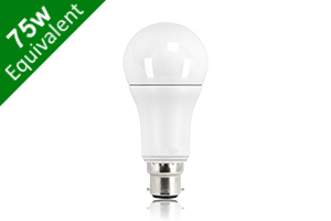 Classic Globe (GLS) B22 12W (75W) Frosted LED Light Bulb