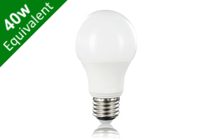 Classic Globe (GLS) E27 6.3W (40W) Frosted LED Light Bulb