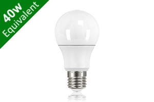 Classic Globe (GLS) E27 6.6W (40W) Frosted LED Light Bulb
