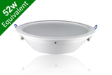 Downlight 25W (52W) 245mm Matt White Ceiling Recessed LED Light