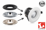 Compatible Bezel Lighting Accessory for Lux-Fire LED Downlights