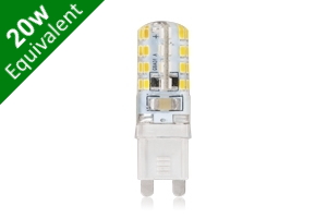 G9 SMD 2.5W (20W Replacement) Capsule LED Spotlight Light Bulb