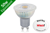 GU10 SMD 4.4W (50W Replacement) LED Retro / Glass Base Spotlight Bulb