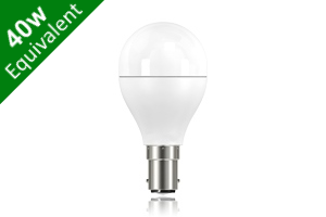 Mini Globe B15 6.8W (40W) Frosted LED Light Bulb