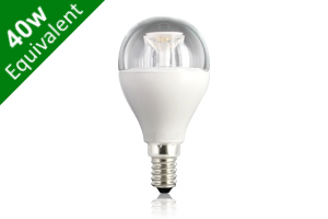 Mini Globe E14 6.5W (40W) Clear LED Light Bulb