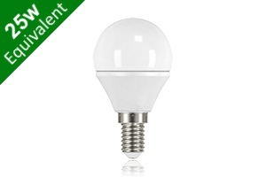 Mini Globe E14 3.8W (25W) Frosted LED Light Bulb